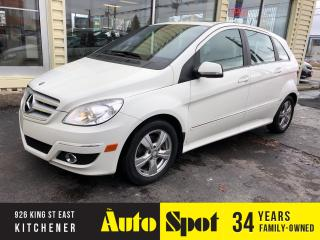 Used 2010 Mercedes-Benz B-Class 200/LOW, LOW KMS/MINT!/PRICED -QUICK SALE ! for sale in Kitchener, ON