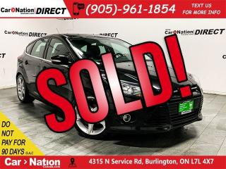 Used 2014 Ford Focus Titanium| LEATHER| SUNROOF| PUSH START| for sale in Burlington, ON