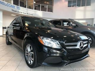 Used 2015 Mercedes-Benz C 300 4MATIC Navigation Panoramic Roof for sale in Edmonton, AB