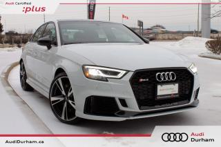 Used 2018 Audi RS 3 2.5 TFSI Quattro + Sport Exhaust   Black Optics for sale in Whitby, ON