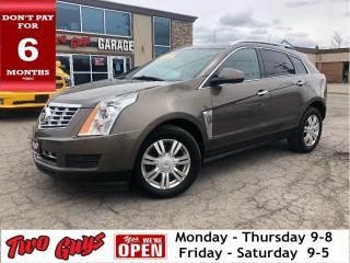 Used 2015 Cadillac SRX Luxury  New Tires  Panoroof  Nav  AWD for sale in St Catharines, ON
