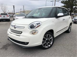 Used 2015 Fiat 500 L Lounge Navigation Leather Skyview for sale in St Catharines, ON