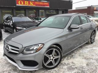 Used 2015 Mercedes-Benz C-Class C300 Awd-Amg Styl for sale in Laval, QC
