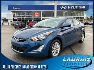 Used 2016 Hyundai Elantra for sale in Port Hope, ON