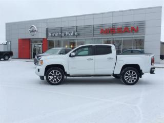 Used 2018 GMC Canyon Crew 4x4 Denali / Short Box for sale in Smiths Falls, ON