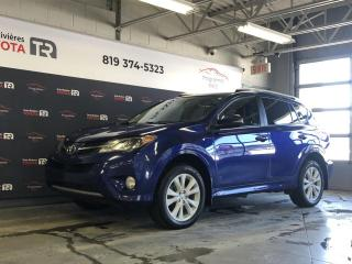 Used 2014 Toyota RAV4 Limited AWD - Toit - Cuir - GPS for sale in Trois-Rivières, QC