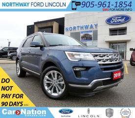 Used 2018 Ford Explorer Limited | PWR LIFTGATE | NAV | PANO ROOF | for sale in Brantford, ON