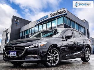 Used 2018 Mazda MAZDA3 GT PREMIUM NAV LOW LOW KM for sale in Scarborough, ON