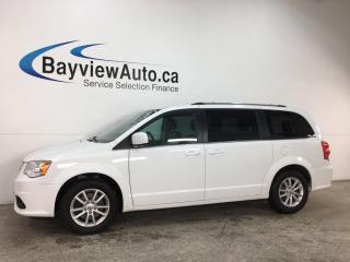 Used 2018 Dodge Grand Caravan CVP/SXT - DVD! STO 'N GO! NAV! U-CONNECT! PWR LIFTGATE! PWR REAR DOORS! for sale in Belleville, ON