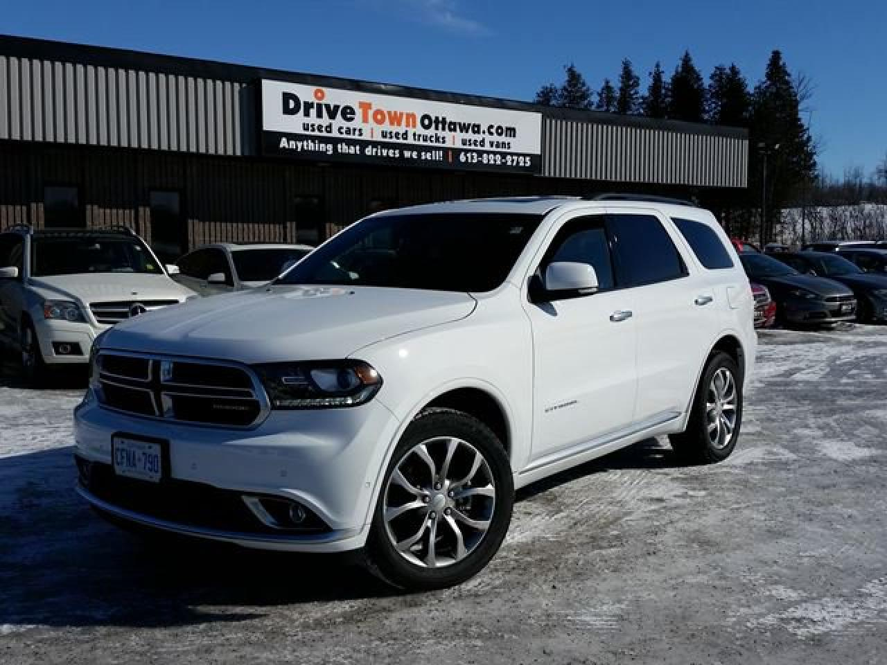 2018 Dodge Durango Citadel Platinum Edition AWD **TOP OF THE LINE**
