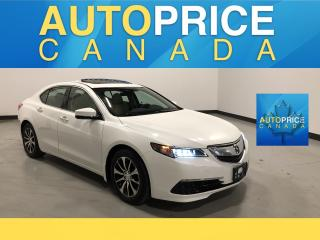 Used 2015 Acura TLX Tech NAVIGATION|REAR CAM|LEATHER for sale in Mississauga, ON