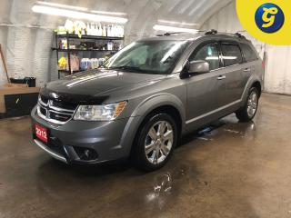 Used 2012 Dodge Journey R/T * AWD *  Navigation * Sunroof * Leather * Remote start * Push button ignition * Keyless entry *  Dual Climate control * Heated front seats/mirrors for sale in Cambridge, ON