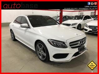 Used 2016 Mercedes-Benz C-Class C300 4MATIC PREMIUM PLUS SPORT LED CLEAN CARFAX for sale in Vaughan, ON