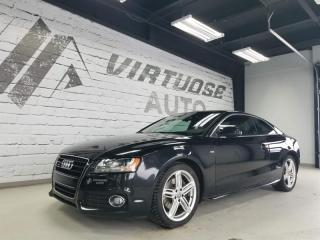 Used 2010 Audi A5 S-LINE + 8 MAGS for sale in Rimouski, QC