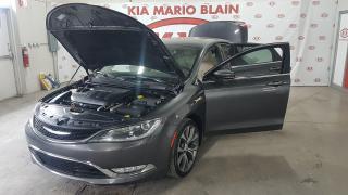 Used 2015 Chrysler 200 C V6 Toit Pano Gps for sale in Ste-Julie, QC