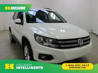 Used 2017 Volkswagen Tiguan Wolfsburg Edition for sale in St-Léonard, QC