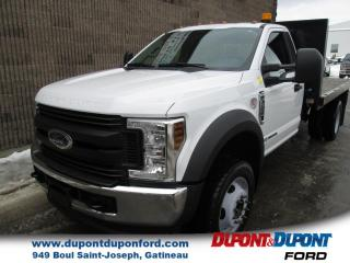 Used 2018 Ford F-550 XL cabine simple 4RM 145 po DCE de 60 po for sale in Gatineau, QC