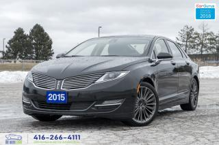 Used 2015 Lincoln MKZ 3.7 AWD NAVI GPS 1 OWNER NO ACCIDENTS PANOROOF for sale in Bolton, ON