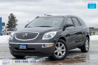 Used 2010 Buick Enclave CXL AWD 1 OWNER DVD LEATHER/SUNROOF AUTOSTART DVD for sale in Bolton, ON
