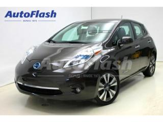Used 2016 Nissan Leaf SL * Quick-Charge * Cuir/Leather * GPS/Camera * for sale in St-Hubert, QC