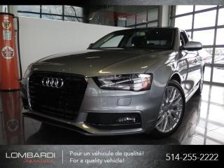 Used 2015 Audi A4 KOMFORT PLUS|S-LINE|QUATTRO|TOIT| for sale in Montréal, QC