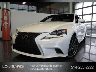 Used 2016 Lexus IS 350 F SPORT2|CUIR ROUGE|NAVIGATION| for sale in Montréal, QC