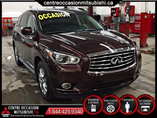 Used 2015 Infiniti QX60 AWD 7 PASSAGERS for sale in Terrebonne, QC