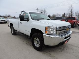 Used 2010 Chevrolet Silverado 2500 WT. 4X4. Z71. Well maintained for sale in Gorrie, ON
