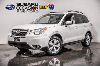 Used 2016 Subaru Forester TOURING for sale in Boisbriand, QC