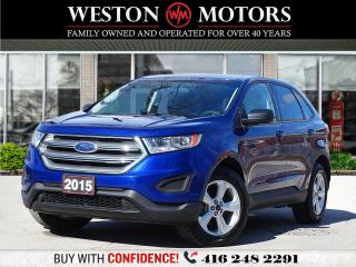Used 2015 Ford Edge SE*PWR GROUP*AUX/USB*BTOOTH*REVERSE CAM!*LOW KM!!* for sale in Toronto, ON