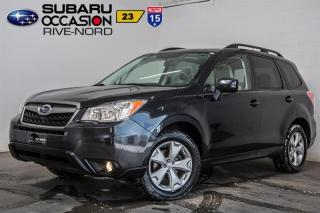 Used 2014 Subaru Forester TOURING for sale in Boisbriand, QC