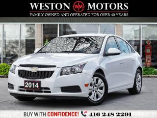 Used 2014 Chevrolet Cruze LT*PWR GRP*AUX/USB*BTOOTH*ACC FREE!!* for sale in Toronto, ON