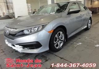 Used 2016 Honda Civic BERLINE LX Automatique A/C Camera Sieges for sale in St-Jean-Sur-Richelieu, QC