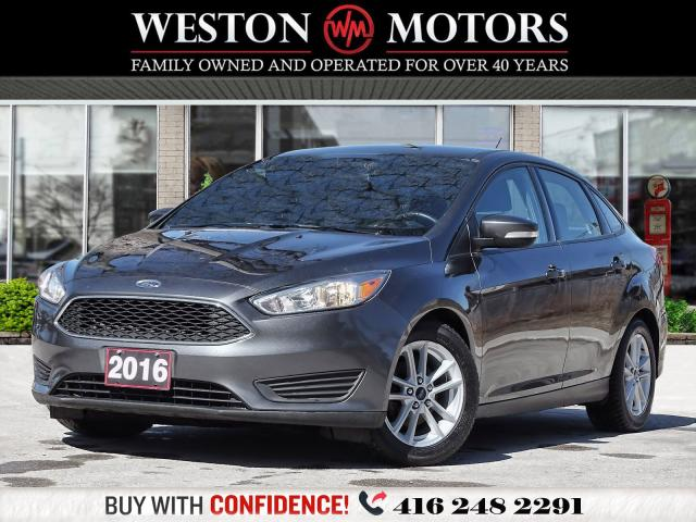 2016 Ford Focus SE*SPORT*POWER GROUP*BLUETOOTH*REVERSE CAM!!*