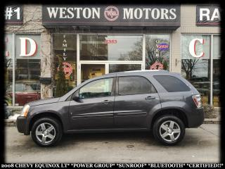 Used 2008 Chevrolet Equinox LT*PWR GRP*SUNROOF*BTOOTH*CERTIFIED!!* for sale in Toronto, ON
