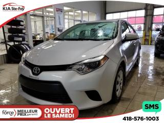Used 2014 Toyota Corolla Le Camera Sieges for sale in Québec, QC