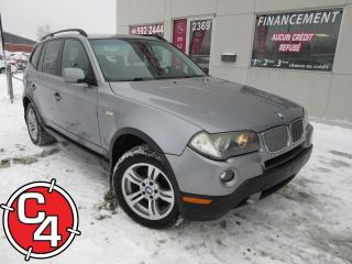 Used 2007 BMW X3 3.0I for sale in St-Jérôme, QC
