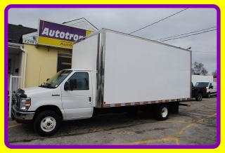 Used 2011 Ford E-450 18' Cube, Ramp for sale in Woodbridge, ON