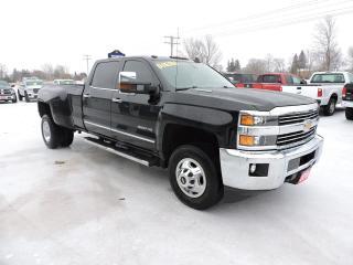 Used 2016 Chevrolet Silverado 3500 LTZ. Diesel. Leather. 4X4. Loaded for sale in Gorrie, ON