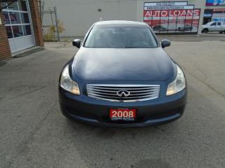 Used 2008 Infiniti G35X Luxury for sale in Scarborough, ON