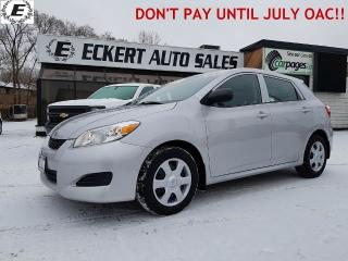 Used 2010 Toyota Matrix HATCHBACK  LOW KM!! for sale in Barrie, ON