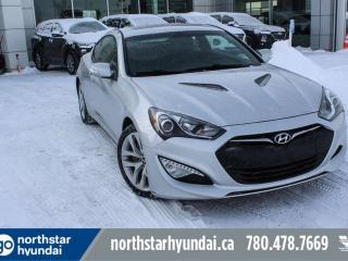 Used 2014 Hyundai Genesis Coupe TURBO/LEATHER/SUNROOF/LOWKM for sale in Edmonton, AB