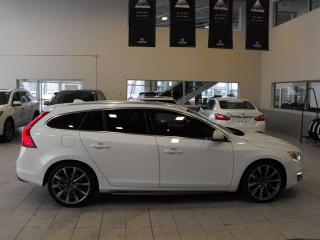 Used 2015 Volvo V60 T5 Premier Plus AWD Back Up Cam Heated Leather for sale in Red Deer, AB