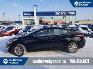 Used 2016 Hyundai Elantra SE/SUNROOF/BACKUP CAM/HEATED SEATS for sale in Edmonton, AB