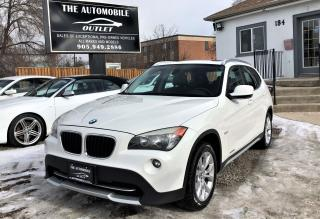 Used 2012 BMW X1 28i AWD PANO SUNROOF NO ACCIDENT for sale in Mississauga, ON