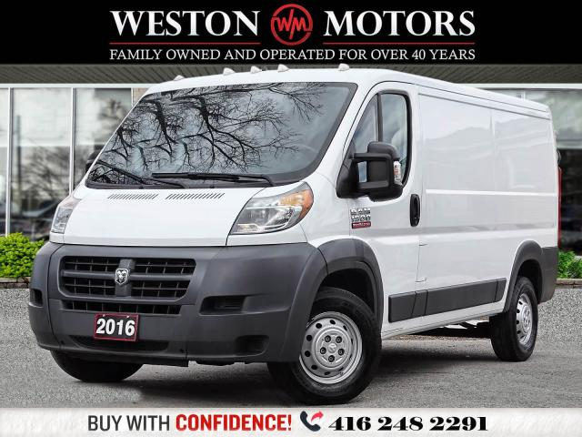 2016 RAM ProMaster 1500*PWR GRP*BTOOTH*CAPTAIN CHAIRS*REVERSE CAM!!*