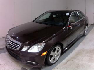 Used 2011 Mercedes-Benz E-Class E 350-4MATIC-NAV-LTHER-PANO-ROOF-PARKING ASSIST for sale in Scarborough, ON