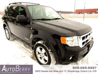 Used 2008 Ford Escape XLT - 3.0L - 4WD for sale in Woodbridge, ON