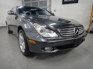 Used 2007 Mercedes-Benz CLS-Class MUST SEE,ALL SERVICE RECORDS,NO ACCIDENT,NAVI for sale in North York, ON