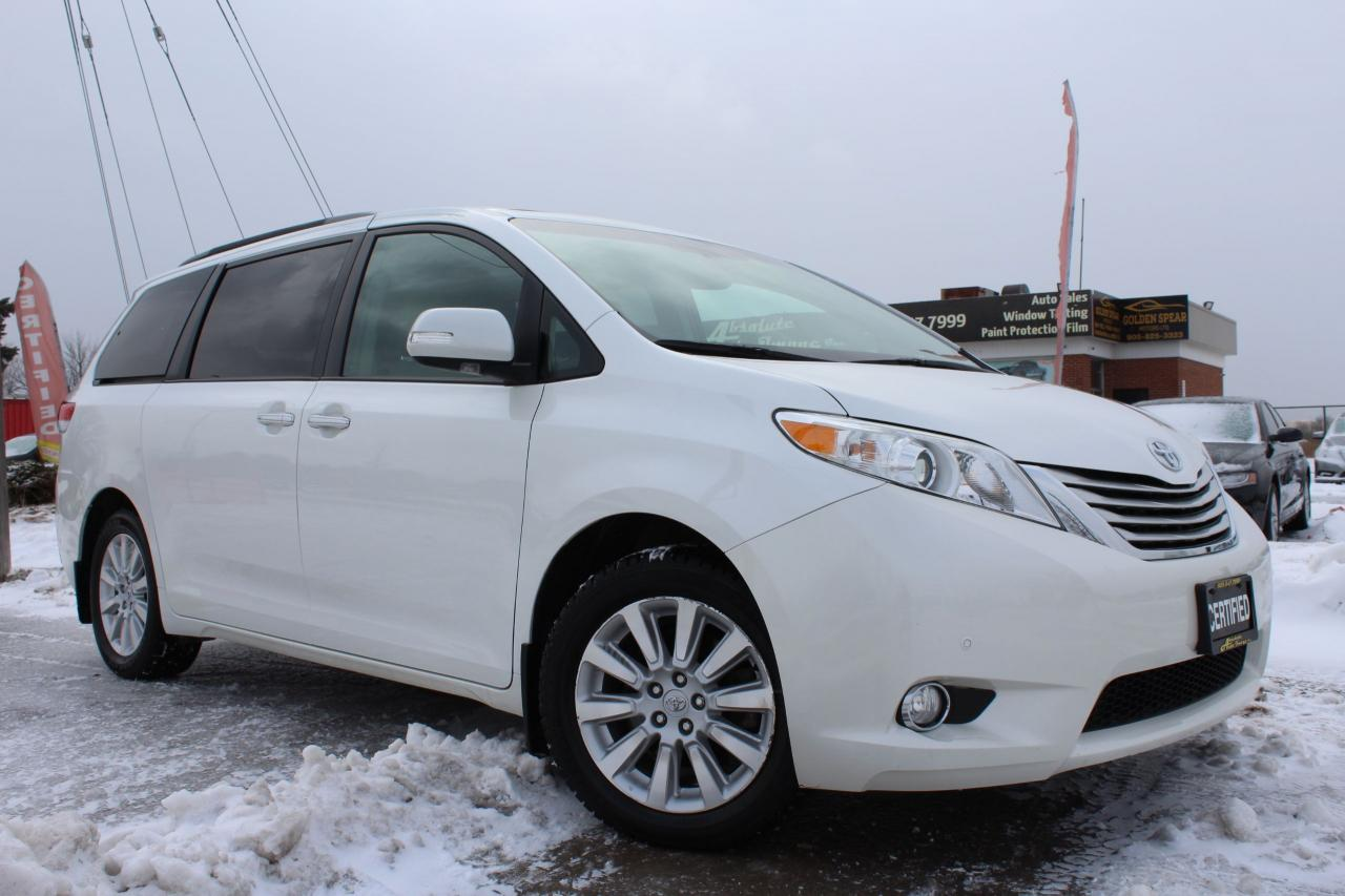 2014 Toyota Sienna Limited AWD-NAV|DVD|BSPOT|CAM|CLEAN CARFAX